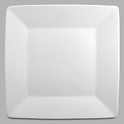 "MB-890 Asian Flare 11"" Square Plate (6 Per Case)"