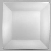 "MB-891 Asian Flare 14"" Square Plate (6 Per Case)"