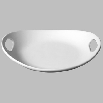 MB-1307 Handled Platter (3 Per Case)