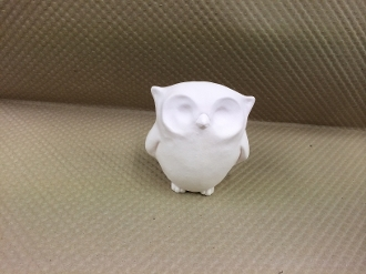 Small Owl Stoneware Bisque (4 Per Case)
